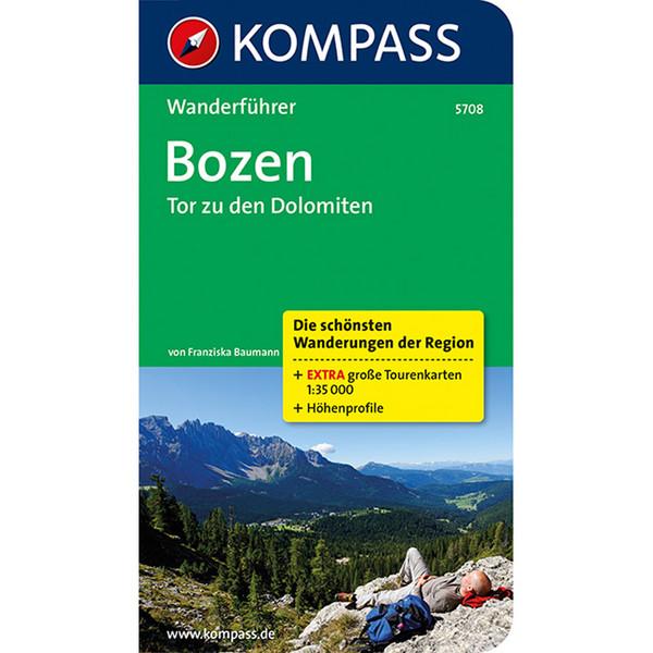 Kompass Wanderführer Bozen