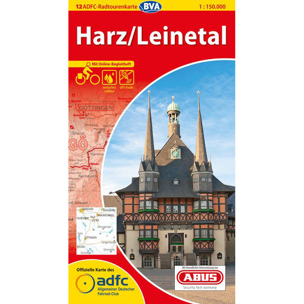 ADFC 1:150T 12 Harz / Leinetal