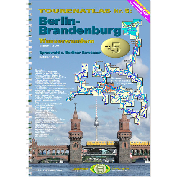 TourenAtlas 05 Berlin-Brandenburg