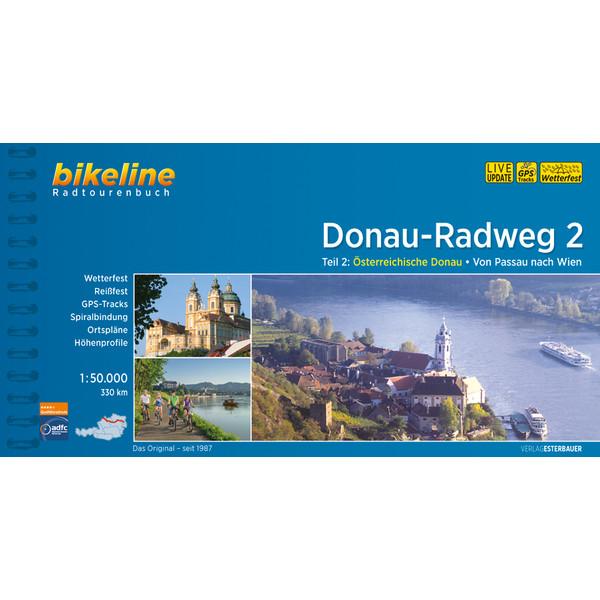 Bikeline Donau-Radweg 2: Passau - Wien