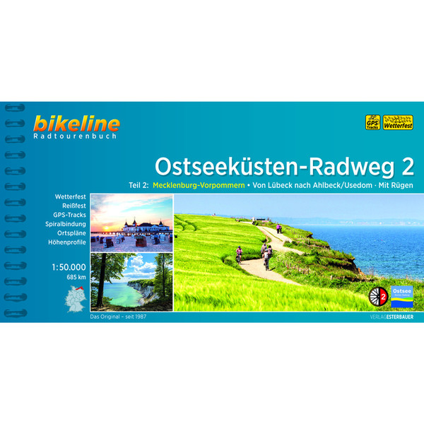 Bikeline Ostseeküsten-Radweg 2