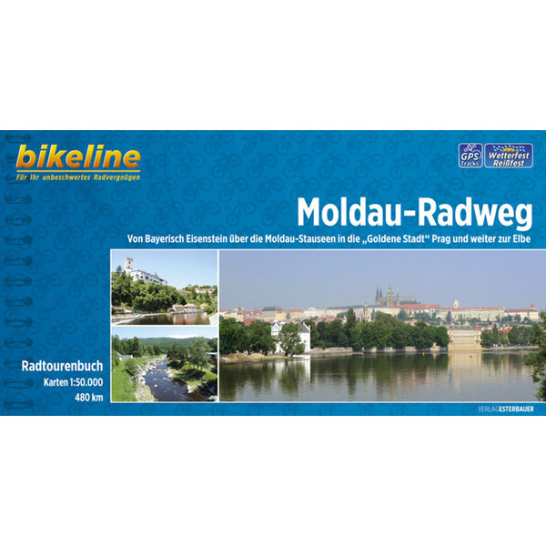 Bikeline Moldau-Radweg