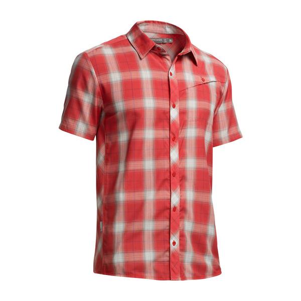 Icebreaker Departure S/S Shirt Männer - Outdoor Hemd