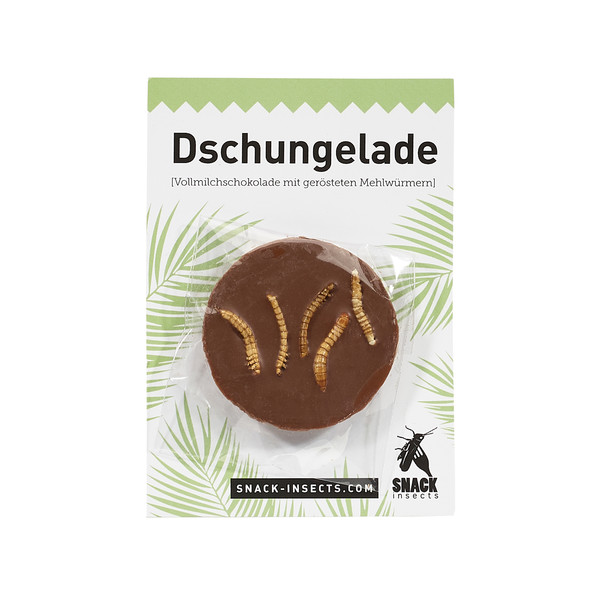 Snack-Insects Dschungelade Taler Vollmilch