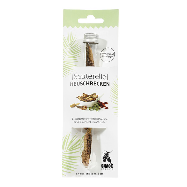 Snack-Insects SAUTERELLE -