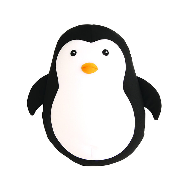 Kikkerland Zip & Flip Penguin Head Rest Kinder - Kissen