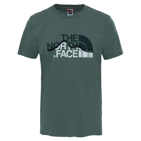 The North Face S/S MOUNTAIN LINE TEE Männer - T-Shirt