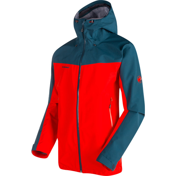 new products 8aa05 445d3 Mammut CRATER HS HOODED JACKET Regenjacke