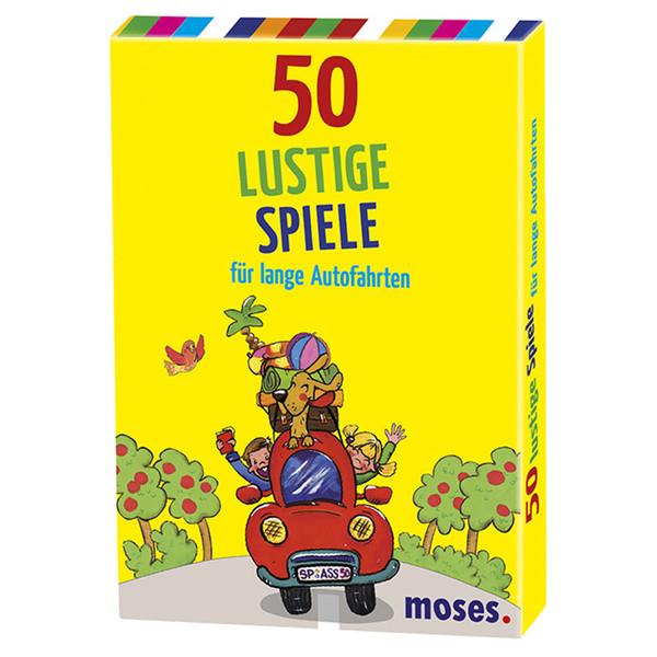 50 lustige Spiele für lange Autofahrten Kinder