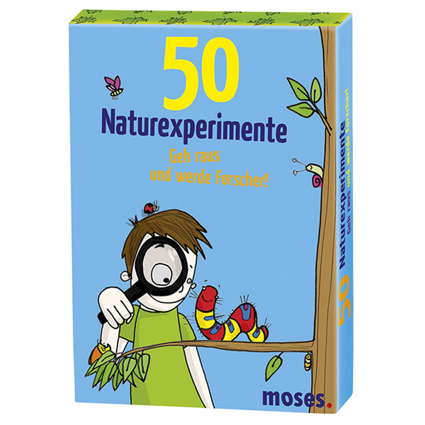 50 NATUREXPERIMENTE Kinder