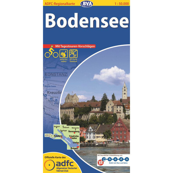 ADFC 1:50 000 Bodensee