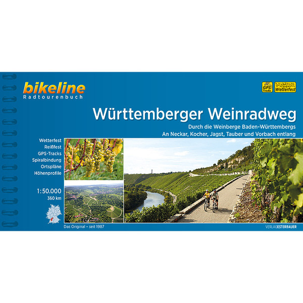 Bikeline Württemberger Weinradweg