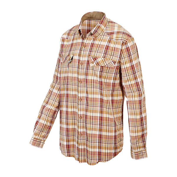 ExOfficio MINIMO PLAID L/S SHIRT Männer - Outdoor Hemd