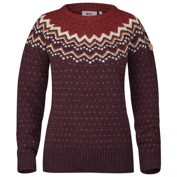 Fjällräven Övik Knit Sweater W. Frauen - Wollpullover