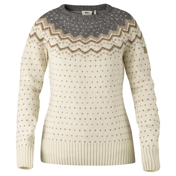 Fjällräven Övik Knit Sweater. Frauen - Wollpullover