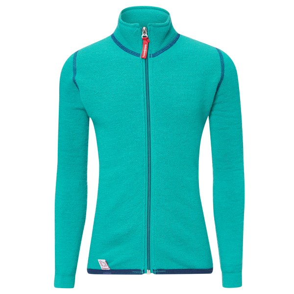 Woolpower Full Zip Jacket 400 Kinder - Wolljacke