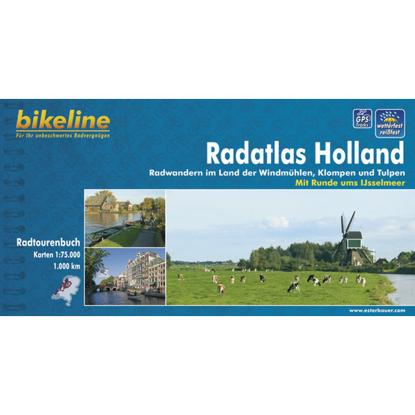 Bikeline Radatlas Holland