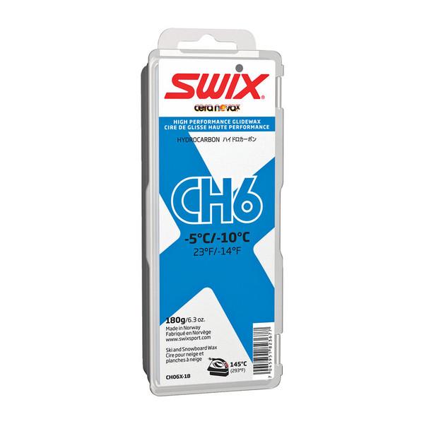 Swix CH6X Gleitwachs blau - Skiwachs