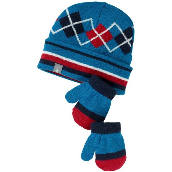 Smartwool ARGYLE HAT/MITT SET Kinder - Mütze