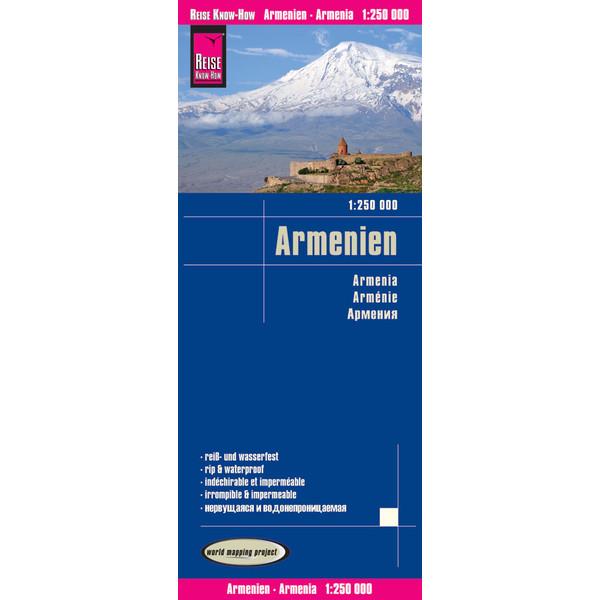 RKH WMP ARMENIEN 1 : 250.000 - Straßenkarte