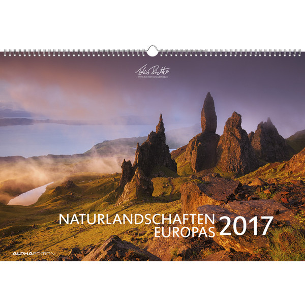 Naturlandschaften Europas 2017