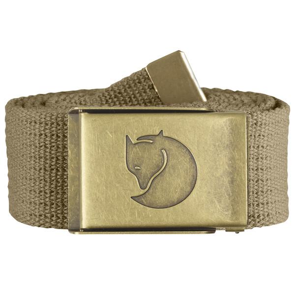 Fjällräven Canvas Brass Belt 4cm Unisex - Gürtel