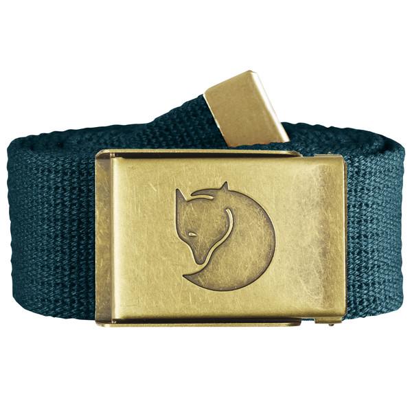 Canvas Brass Belt 4cm