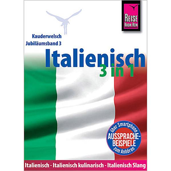 RKH KAUDERWELSCH ITALIENISCH 3 IN 1 - Sprachführer