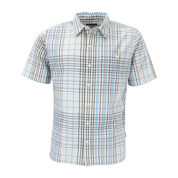 Patagonia Puckerware S/S Shirt Männer - Outdoor Hemd