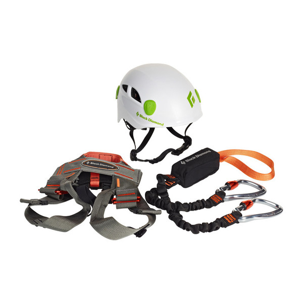 Black Diamond Iron Cruiser Via Ferrata Package - Klettersteigset