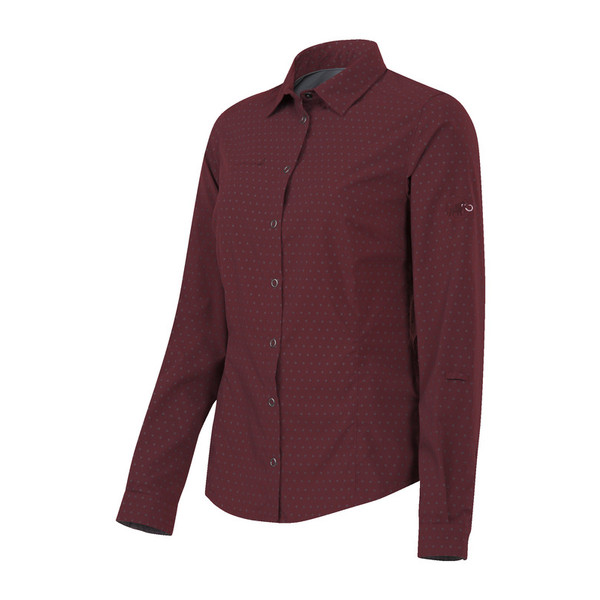 Mammut Glider L/S Shirt Frauen - Outdoor Bluse