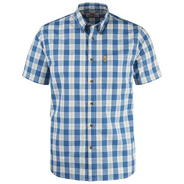 Fjällräven Övik Button Down Shirt S/S Männer - Outdoor Hemd