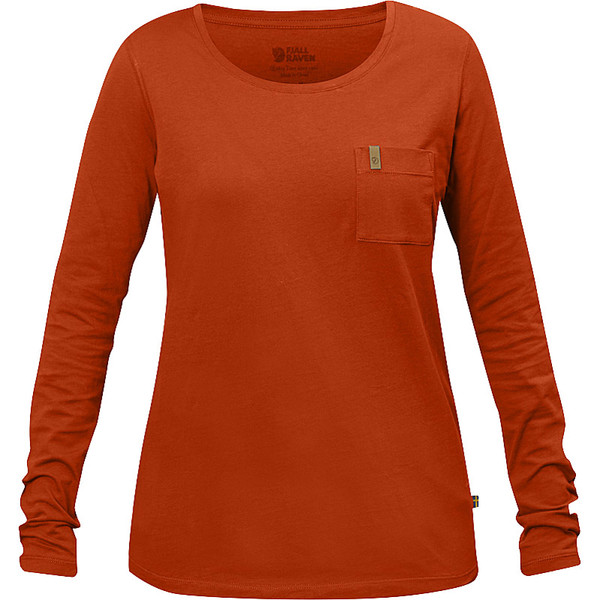 Fjällräven Övik Pocket T-shirt L/S Frauen - Langarmshirt