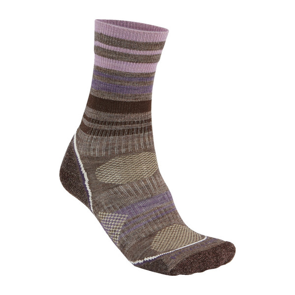 Smartwool PhD Outdoor Light Pattern Crew Frauen - Wandersocken