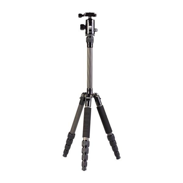 Sirui T-025X Dreibeinstativ Carbon mit Kopf - Kamerastativ