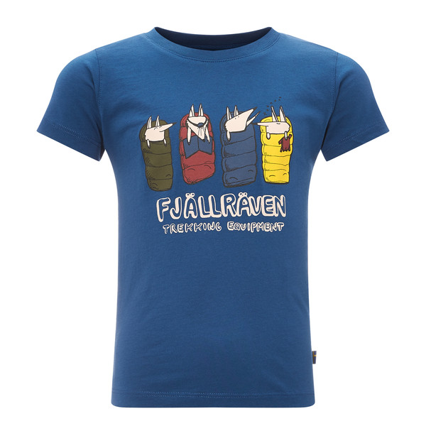 Fjällräven Sleeping Foxes T-shirt Kinder - T-Shirt