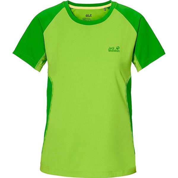 Jack Wolfskin Split T-Shirt Frauen - T-Shirt
