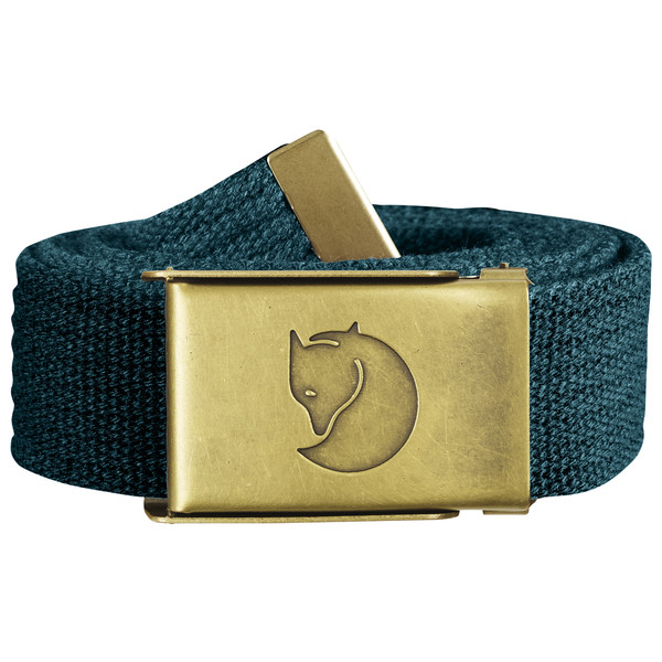 Canvas Brass Belt 3cm