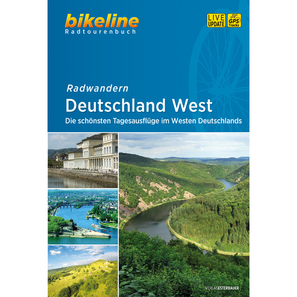 Bikeline Radtourenbuch Deutschland West