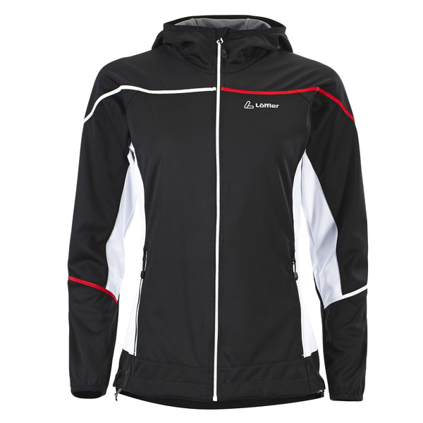 Löffler Kapuzenjacke WS Softshell light Frauen - Softshelljacke