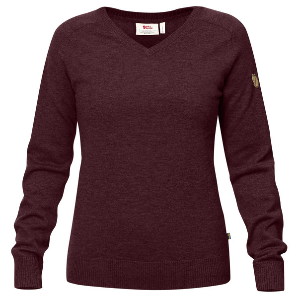 Fjällräven Sörmland V-Neck Sweater Frauen - Wollpullover