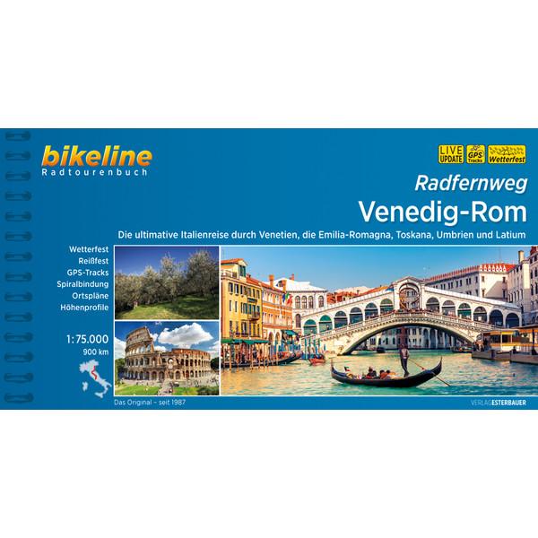Bikeline Radtourenbuch Venedig-Rom