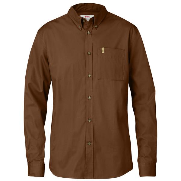 Övik Solid Twill Shirt L