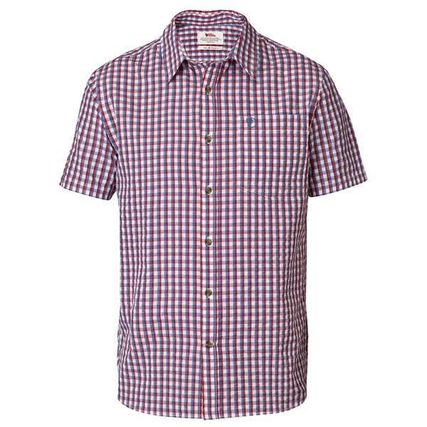 Fjällräven Abisko Seersucker Shirt SS Männer - Outdoor Hemd