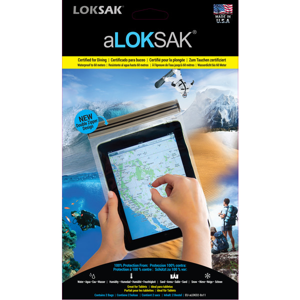 Aloksak Set 2 Pcs iPad