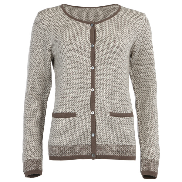Himalaya Wool Cardigan Frauen - Wolljacke
