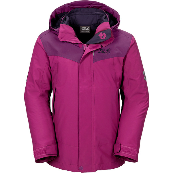 Jack Wolfskin Snow Wizard II 3In1 Jacket Kinder - Winterjacke