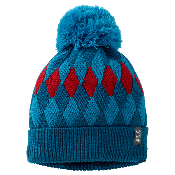 Diamond Knit Cap