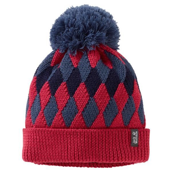 Jack Wolfskin Diamond Knit Cap Kinder - Mütze