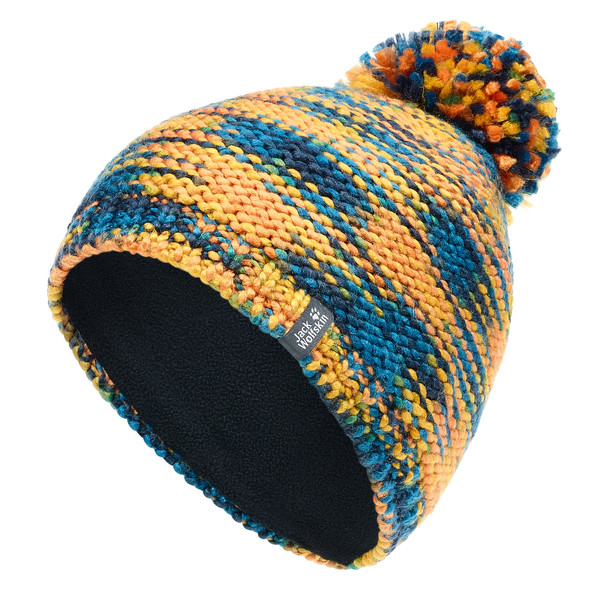 Jack Wolfskin Kaleidoscope Knit Cap Kinder - Mütze